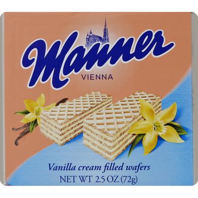 Manner Wafer, Vanilla Cream Filled