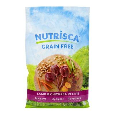 Nutrisca Grain Free Premium Food For Dogs Lamb & Chickpea Recipe