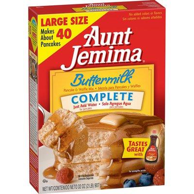 Aunt Jemima Buttermilk Baking Mix