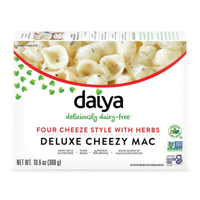Daiya Dairy Free Four Cheeze Style with Herbs Deluxe Cheezy Mac