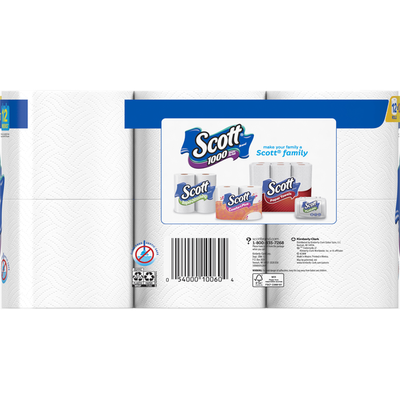 Scott 1000 Toilet Paper Bath Tissue