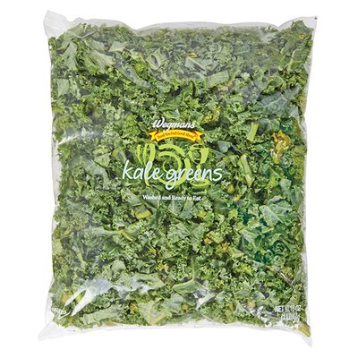 Wegmans Kale Greens, Cut