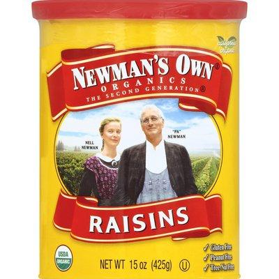 Newman's Own Raisins