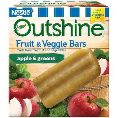 Outshine Apple & Greens Fruit & Veggie Bars