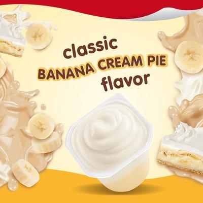 Snack Pack Pudding Banana Cream Pie