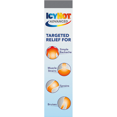 IcyHot Pain Relief, Patch, Menthol 7.5%, Advanced, Large Patch