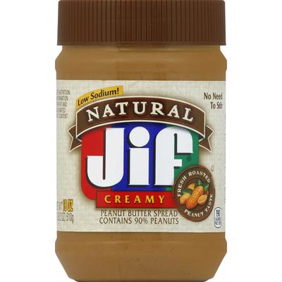 Jif Natural Creamy Peanut Butter