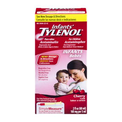 TYLENOL Infants' Tylenol Oral Suspension, Cherry