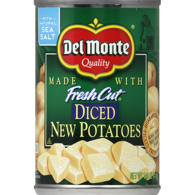 Del Monte New Potatoes, Diced
