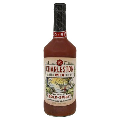 Charleston Bloody Mary Mix, Gluten Free, All Natural, Bold & Spicy