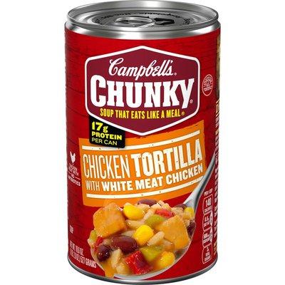 Chunky Chicken Tortilla Soup