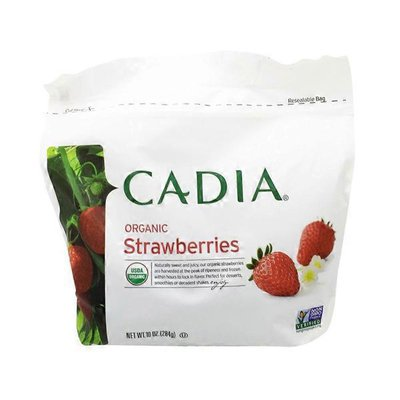CADIA Organic Strawberries