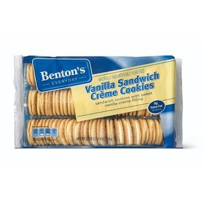 Benton's Vanilla Sandwich Creme Cookies