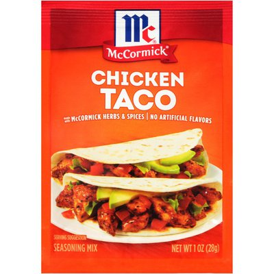 McCormick® Chicken Taco Seasoning Mix
