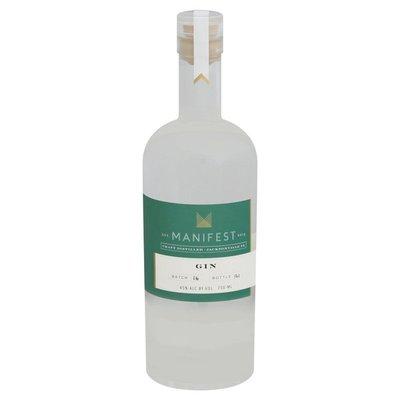 Manifest Gin, Bottle: 121, Batch 16