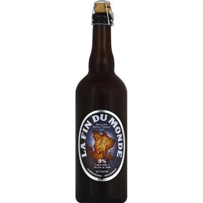 La Fin Du Monde Beer, Belgian Style Triple Ale