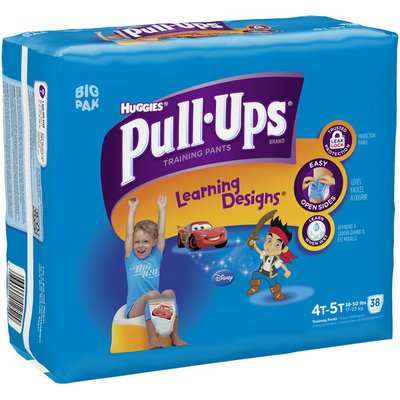 Pull-Ups With Learning Designs for Boys 4T-5T Training Pants