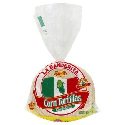 La Banderita Corn Tortillas