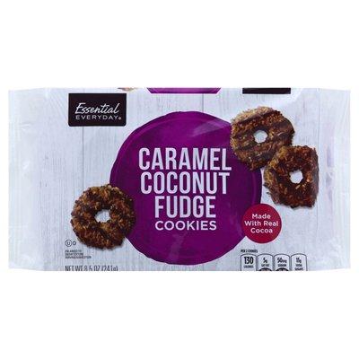 Essential Everyday Cookies, Caramel Coconut Fudge
