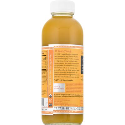 GTs Raw Kombucha, Mystic Mango