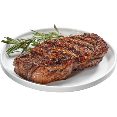 The Butcher Shop 100% Grass-Fed New York Strip Steak, Package