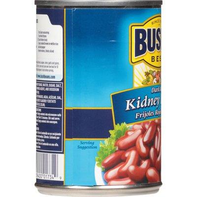 Bush's Best Dark Red Kidney Beans