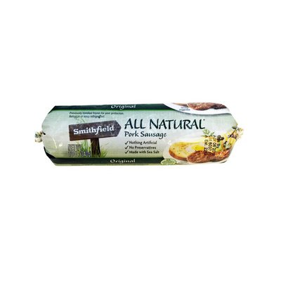Smithfield All Natural Original Pork Sausage