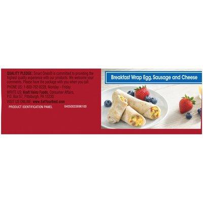 Smart Ones Tasty American Favorites Breakfast Wrap Egg Sausage & Cheese