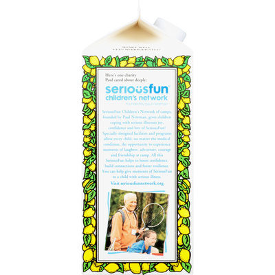 Newman's Own Lemonade, Virgin