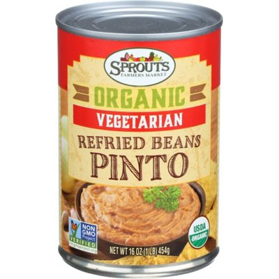 Sprouts Organic Vegetarian Refried Beans