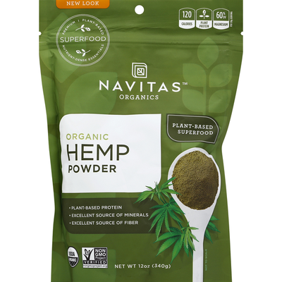 Navitas Organics Hemp Powder, Organic