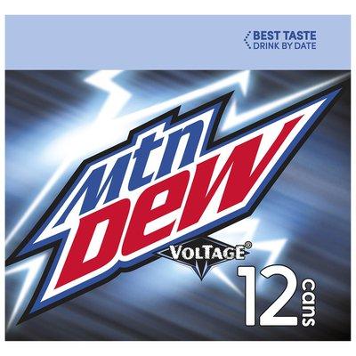 Mountain Dew Soda, Voltage