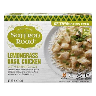 Saffron Road Lemongrass Basil Chicken With Basmati Rice