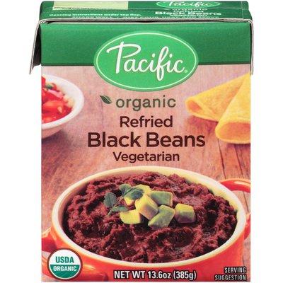 Pacific Organic Vegetarian Refried Black Beans