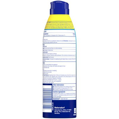 Coppertone Continuous Spray Broad Spectrum SPF 30 Sunscreen