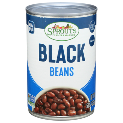 Sprouts Black Beans