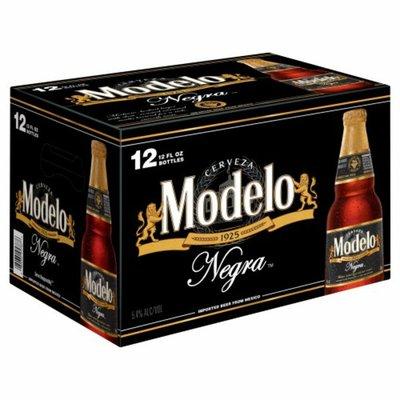Modelo Negra Mexican Amber Lager Beer Bottles