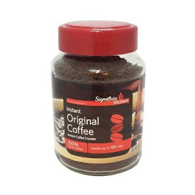 Signature Kitchens Coffee, 100% Instant, Crystals