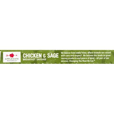 Applegate Natural Chicken & Sage Breakfast Sausage