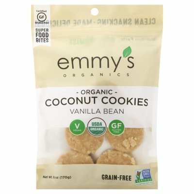 Emmys Coconut Cookies, Vanilla Bean