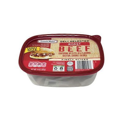 Lunch Mate Family Size Roast Beef