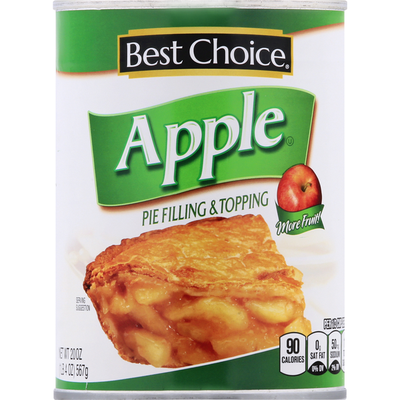 Best Choice Pie Filling & Topping, Apple