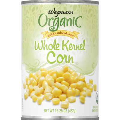 Wegmans Organic Food You Feel Good About Whole Kernel Corn