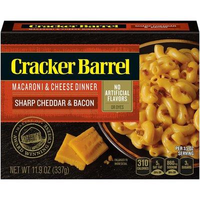 Cracker Barrel Sharp Cheddar & Bacon Macaroni & Cheese Dinner