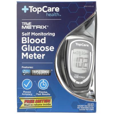 TopCare True Metrix, Self Monitoring Blood Glucose Meter