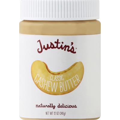Justin's Butter, Classic, Cashew