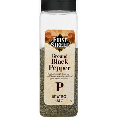 First Street Black Pepper, Ground