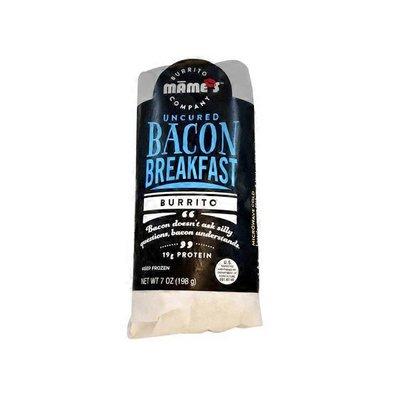 Mame's Uncured Bacon Breakfast Burrito