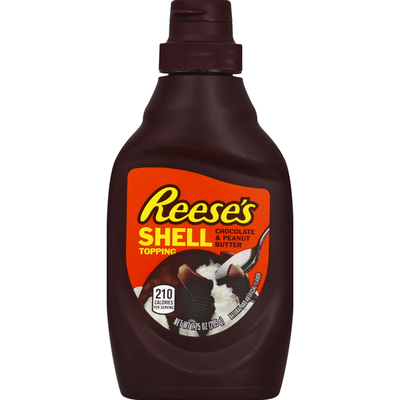 Reese's Chocolate & Peanut Butter Shell Topping