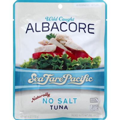 Sea Fare Pacific Tuna, Wild Caught Albacore, Naturally No Salt